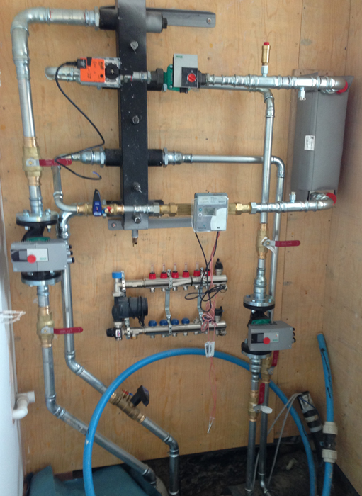 Biomass Heating System ~ Ce mechanical services hereford herefordshire uk